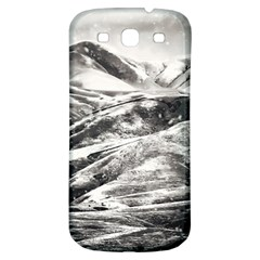 Mountains Winter Landscape Nature Samsung Galaxy S3 S Iii Classic Hardshell Back Case by Celenk
