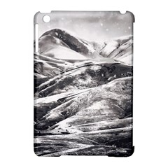 Mountains Winter Landscape Nature Apple Ipad Mini Hardshell Case (compatible With Smart Cover) by Celenk