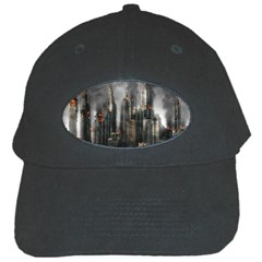 Armageddon Disaster Destruction War Black Cap by Celenk