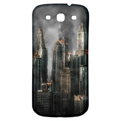 Armageddon Disaster Destruction War Samsung Galaxy S3 S Iii Classic Hardshell Back Case by Celenk