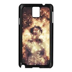 Science Fiction Teleportation Samsung Galaxy Note 3 N9005 Case (black) by Celenk