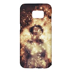 Science Fiction Teleportation Samsung Galaxy S7 Edge Hardshell Case by Celenk