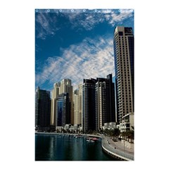 Skyscraper City Architecture Urban Shower Curtain 48  X 72  (small)  by Celenk