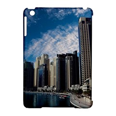 Skyscraper City Architecture Urban Apple Ipad Mini Hardshell Case (compatible With Smart Cover) by Celenk