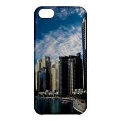 Skyscraper City Architecture Urban Apple Iphone 5c Hardshell Case by Celenk
