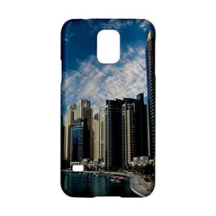 Skyscraper City Architecture Urban Samsung Galaxy S5 Hardshell Case  by Celenk