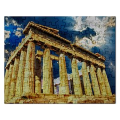 Athens Greece Ancient Architecture Rectangular Jigsaw Puzzl by Celenk