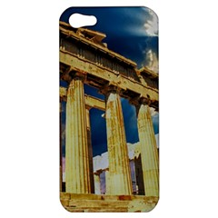 Athens Greece Ancient Architecture Apple Iphone 5 Hardshell Case by Celenk
