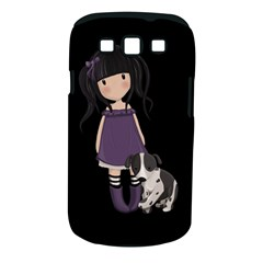 Dolly Girl And Dog Samsung Galaxy S Iii Classic Hardshell Case (pc+silicone) by Valentinaart