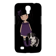 Dolly Girl And Dog Samsung Galaxy Mega 6 3  I9200 Hardshell Case by Valentinaart