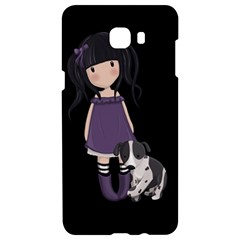 Dolly Girl And Dog Samsung C9 Pro Hardshell Case  by Valentinaart