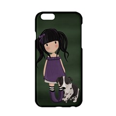 Dolly Girl And Dog Apple Iphone 6/6s Hardshell Case by Valentinaart