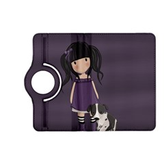 Dolly Girl And Dog Kindle Fire Hd (2013) Flip 360 Case by Valentinaart