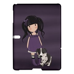 Dolly Girl And Dog Samsung Galaxy Tab S (10 5 ) Hardshell Case  by Valentinaart