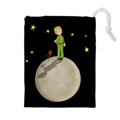 The Little Prince Drawstring Pouches (extra Large) by Valentinaart
