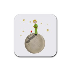 The Little Prince Rubber Coaster (square)  by Valentinaart