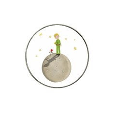 The Little Prince Hat Clip Ball Marker by Valentinaart