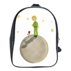 The Little Prince School Bag (large) by Valentinaart