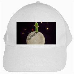 The Little Prince White Cap by Valentinaart