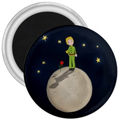The Little Prince 3  Magnets by Valentinaart