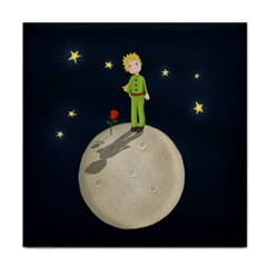 The Little Prince Face Towel by Valentinaart