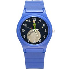 The Little Prince Round Plastic Sport Watch (s) by Valentinaart
