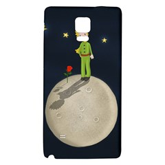 The Little Prince Galaxy Note 4 Back Case by Valentinaart