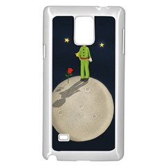 The Little Prince Samsung Galaxy Note 4 Case (white) by Valentinaart
