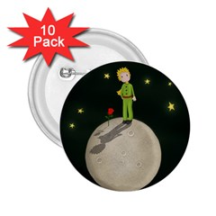 The Little Prince 2 25  Buttons (10 Pack)  by Valentinaart