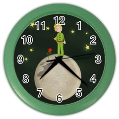 The Little Prince Color Wall Clocks by Valentinaart