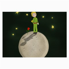 The Little Prince Large Glasses Cloth by Valentinaart