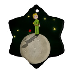 The Little Prince Ornament (snowflake) by Valentinaart