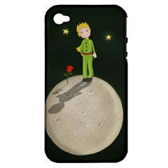 The Little Prince Apple Iphone 4/4s Hardshell Case (pc+silicone) by Valentinaart