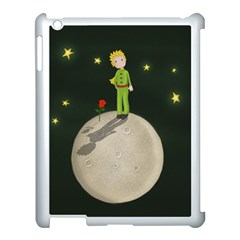 The Little Prince Apple Ipad 3/4 Case (white) by Valentinaart