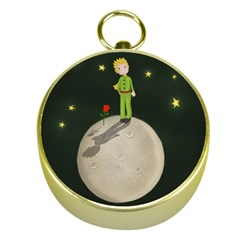 The Little Prince Gold Compasses by Valentinaart