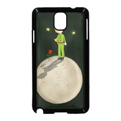 The Little Prince Samsung Galaxy Note 3 Neo Hardshell Case (black) by Valentinaart