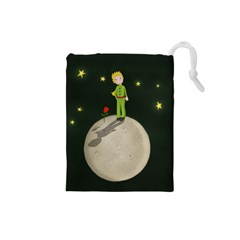 The Little Prince Drawstring Pouches (small)  by Valentinaart