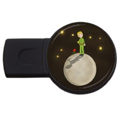 The Little Prince Usb Flash Drive Round (2 Gb) by Valentinaart