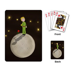 The Little Prince Playing Card by Valentinaart