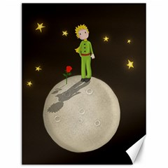 The Little Prince Canvas 12  X 16   by Valentinaart