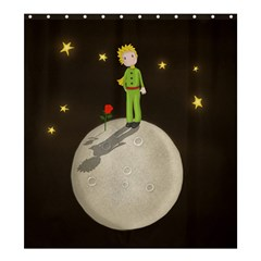 The Little Prince Shower Curtain 66  X 72  (large)  by Valentinaart