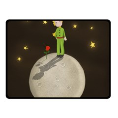The Little Prince Fleece Blanket (small) by Valentinaart