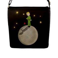 The Little Prince Flap Messenger Bag (l)  by Valentinaart