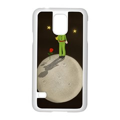 The Little Prince Samsung Galaxy S5 Case (white) by Valentinaart