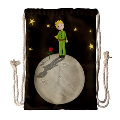 The Little Prince Drawstring Bag (large) by Valentinaart