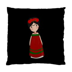 Frida Kahlo Doll Standard Cushion Case (one Side) by Valentinaart