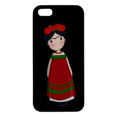 Frida Kahlo Doll Iphone 5s/ Se Premium Hardshell Case by Valentinaart