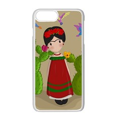 Frida Kahlo Doll Apple Iphone 7 Plus Seamless Case (white) by Valentinaart