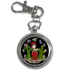 Frida Kahlo Doll Key Chain Watches by Valentinaart