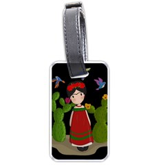 Frida Kahlo Doll Luggage Tags (two Sides)